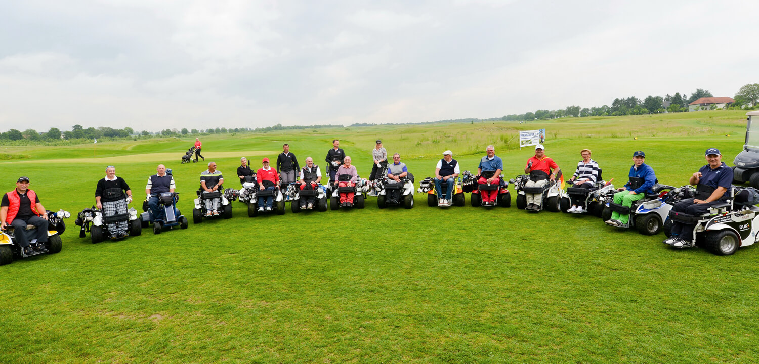 Powerbasetec organisiert die 1. International Wheelchair Golf  Open Championchips 2018