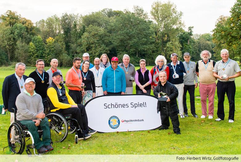 Großes Golf bei den 4. HVB Internationalen Bayerischen Meisterschaften der Golfer mit Behinderung